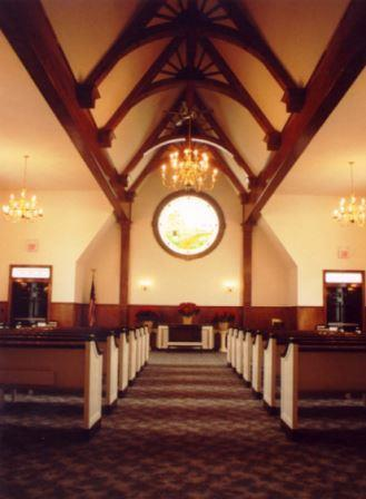 McHoul Funeral Home Chapel